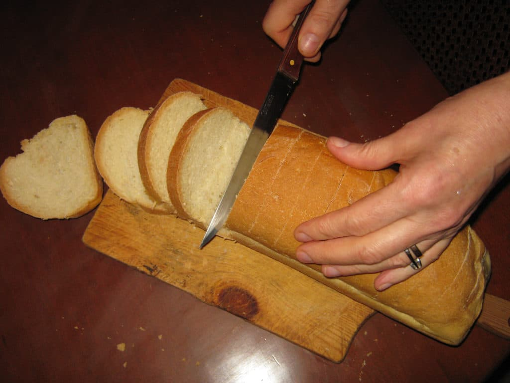 Πουτίγκα με μπαγιάτικο ψωμί - 1