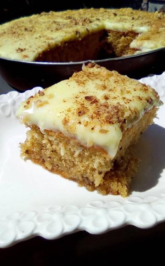 Αποτέλεσμα εικόνας για καρυδοπιτα με κρεμα