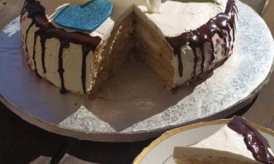 τούρτα αμυγδάλου